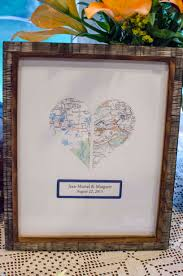 wedding gift map map themed decor with your silhouette unoriginal
