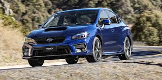 2018 subaru wrx wrx sti pricing and specs tweaked looks more kit