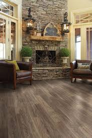 vinyl plank flooring kitchen rustic with wood like contemporary ovens