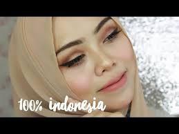 tutorial make up natural untuk kulit coklat 100 tutorial makeup dengan produk indonesia mineral botanica inez