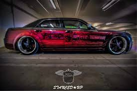 mike u0027s chrysler 300 stanced up