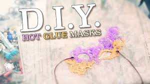 easy diy masquerade masks from glue u0026 glitter costume