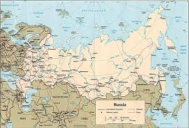russia map by population russia and the former soviet republics maps perry castañeda map