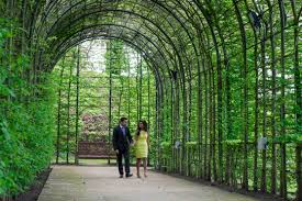 Wedding Arches Newcastle Alnwick Gardens Wedding Photography Anjali U0026 Rajan Leighton