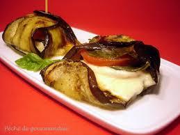 cuisiner l aubergine à la poele papillotes d aubergine à la mozzarelle péché de gourmandise