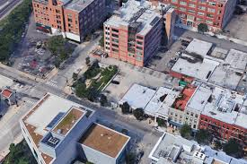 potential new development would replace greektown parking lot