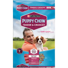 Puppy Makeup Halloween by Purina Puppy Chow Tender And Crunchy Puppy Food 16 5 Lb Bag