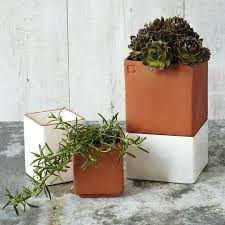 10 easy pieces self watering pots and planters gardenista