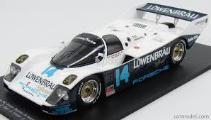 rothmans porsche 956 spark model 18da87 scale 1 18 porsche 962 n 14 winner 24h