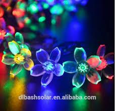 custom led string lights cheap price sakura 20 led solar l string string fairy lights