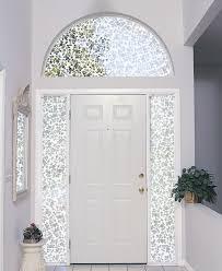 front door window coverings image treatments front door window