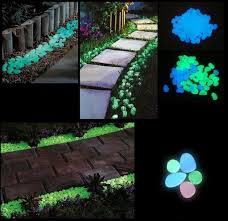 glow stones aliexpress buy garden decoration crafts solar glow