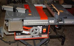 Ryobi 10 Inch Portable Table Saw Rip Fence For Craftsman 10 Inch 15 Amp Table Saw Woodworking