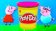 Peppa Pig Play Doh Peppa Pig Play Doh Stop Motion Make George Dinosaur And Pony Play