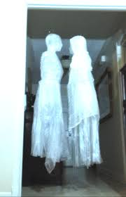 Halloween Window Monsters by Ghost 1 U2013 How To Make A Packing Tape And Trash Bag Ghost Tutorial