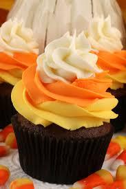 Chocolate Orange Halloween Cake Candy Corn Swirl Cupcakes Two Sisters Crafting
