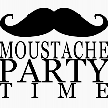 mustache party pin by on guilherme s moustache party