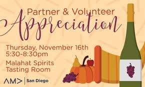 partner volunteer appreciation event ama san diego