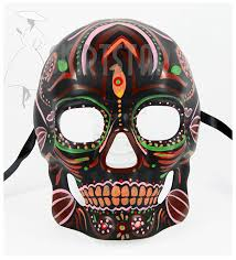 amazon com men u0027s dia de los muertos sugar skull mask black multi
