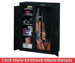 stack on 10 gun double door cabinet best gun safe under 500 dollars reviews buyer s guide easy