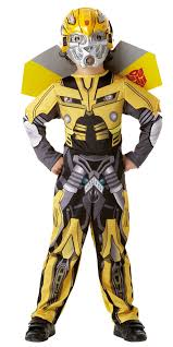 transformers boys optimus prime or bumble bee kids child fancy