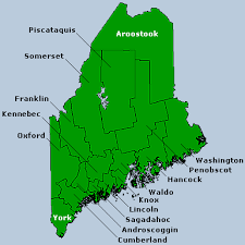 map of maine cities maine cities and towns wazeopedia