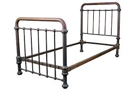 Brass Bed Frames Brass Bed Frame Antique Symmetrical Iron Beds At 1stdibs 16