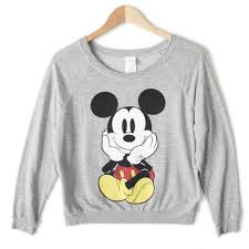 disney mickey mouse front back sweatshirt style shirt the