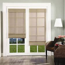 Blinds Or Curtains For French Doors - best 25 roman shades french doors ideas on pinterest