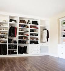walk in closet nook with built in bag shelves walk in closet
