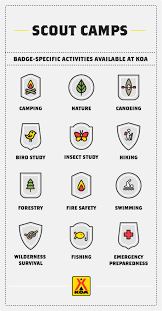 community camping programs and outreach from koa scout program