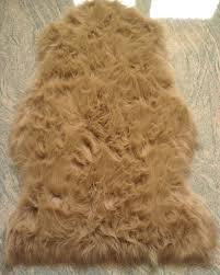 fellimitat teppich schaffell lammfell fell teppich imitat kunstfell auflage