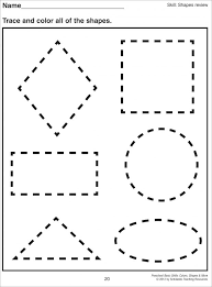 coloring pages shapes coloring pages for preschoolers diamond