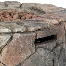 Outdoor Stone Firepits by Bcp Stone Design Fire Pit Outdoor Home Patio Gas Firepit Walmart Com