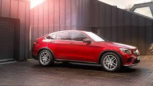 mercedes benz jeep red mercedes benz glc250d 4matic amg line coupe 2017 uk review by