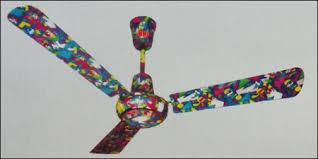 Multi Colored Ceiling Fans by Teak Wood Colour Ceiling Fan In Bhagirath Palace Delhi