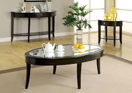 Walnut Sofa Table by Flamingo Furniture Silver Mist Dark Walnut Sofa Table W Beveled