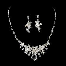 swarovski crystals necklace designs images Jewelry sets a beautiful bride jpeg