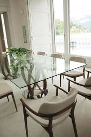 Dining Room Glass Tables Dublin 8 Seater Walnut Stain And Glass Dining Table 90x200 295