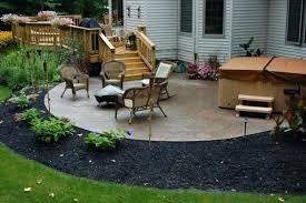 Deck Patio Designs Backyard Deck And Patio Ideas Back Patio Design Ideas