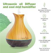 Amazon Oil Diffuser by Amazon Com Ultrasonic Oil Diffuser Humidifier With Timer For