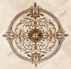 marble floor medallions marble medallion to enhance your