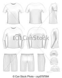 white men u0027s clothing templates t shirts caps and shorts eps