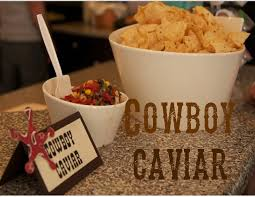 baby shower cowboy small market cook western baby shower and cowboy caviar