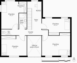 plan de maison a etage 5 chambres plan maison 120m2 avec etage beau plan maison 5 chambres
