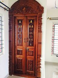 pooja room door design in interior designers image of home