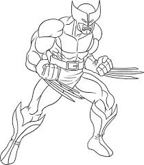 wolverine coloring pages chuckbutt com