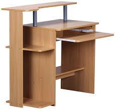 Schreibtisch In Buche Finebuy Cevo Computertisch Buche 94 X 90 X 48 Cm Mit