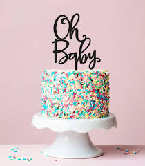 baby shower oh baby cake topper baby shower cake topper baby shower
