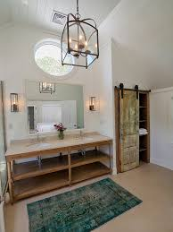 Rustic Bathroom Lighting - modern rustic bathroom interior design